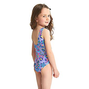 ZOGGS filles sauvages Scoopback maillot de bain - lilas/Multi