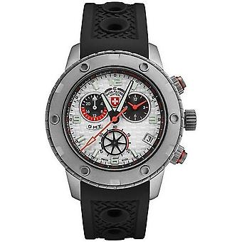 Swiss military mens watch rally GMT chronograph 2745