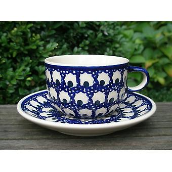 Cup with saucer - ceramic dinnerware - traditional 80 - tea & coffee - BSN 62411