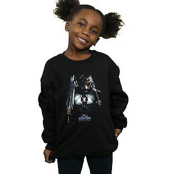 Marvel Girls Black Panther Killmonger Poster Sweatshirt