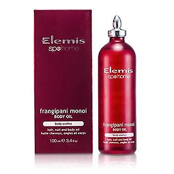Exotic Frangipani Monoi Body Oil - 100ml/3.4oz