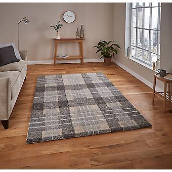 Elegante 4890 retângulo cinza tapetes tapetes modernos