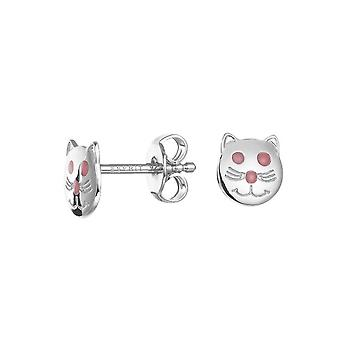 ESPRIT kids earrings silver cat ESER92542A000