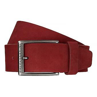 BALDESSARINI belt leather belts men's belts leather Ferrari red 6485