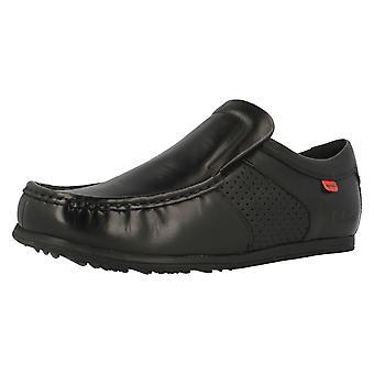 Mens Kickers Slip On Shoes Moor Twin 112501