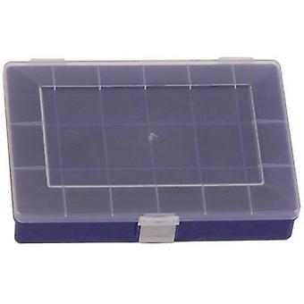 Caja de surtido de H-nersdorff (L x W x H) 250 x 180 x 45 mm No. de compartimentos: 18 compartimentos fijos 1 ud(s)