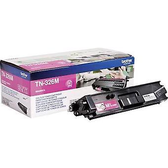 Brother Toner cartridge TN-326M TN326M Original Magenta 3500 Sides