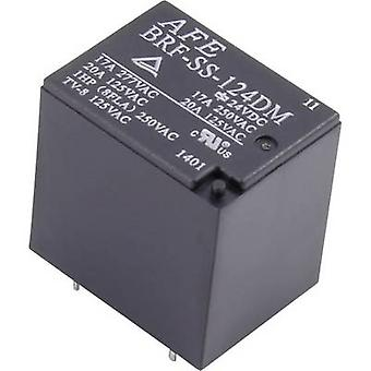 AFE BRF-SS-124DM PCB relay 24 V DC 20 A 1 Maker 1 PC (s)