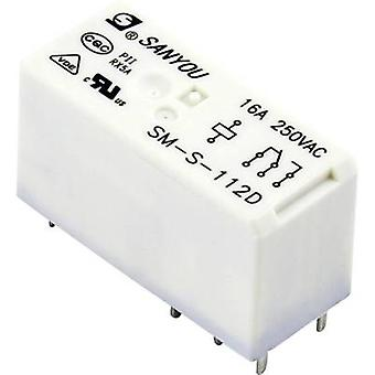 SM-S-112D PCB relay 12 V DC 20 A 1 change-over 1 pc(s)
