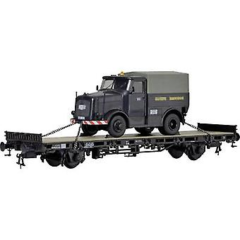 Kibri 26270 H0 Low-kant wagen KAELBLE