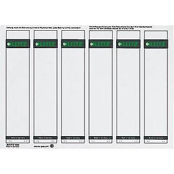 Etiquetas de archivo del arco de palanca Leitz 1686-20-85 39 x 191 mm papel gris permanente 150 PC
