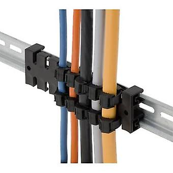 Icotek KZL 80 Strain relief strip Polyamide Black 1 pc(s)