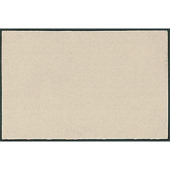 wash + dry trend-colour champagne washable floor mat light beige