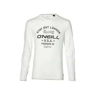 O ' Neill LM séjour sur T-Shirt manches longues, Super blanc