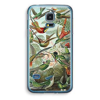 Samsung Galaxy S5 Mini-transparentes Gehäuse (Soft) - Haeckel Trochilidae