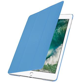 Trifold flip stand case for Apple iPad 9.7 (2017) , slim cover - Light blue