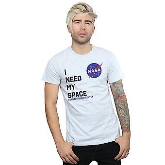 NASA 男性の私のスペースの t シャツを必要な