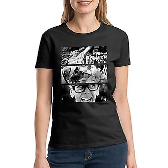 The Sandlot Movie Scenes Graphic Women's Black T-shirt