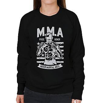MMA vechter Amerika trots vrouwen Sweatshirt