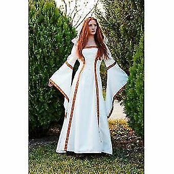 Moyen-âge robe Elanea capuche robe Mesdames costume gothique médiéval costume Lady