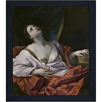 Avec Ram The Death of Cleopatra, Guido Reni, 61x51cm
