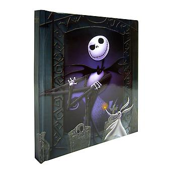 Nightmare before Christmas-Jack muzikale notebook