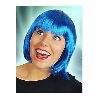 Perücken-Bob Perücke Sophia blau