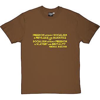 Mikhail Bakunin Chestnut Men's T-Shirt