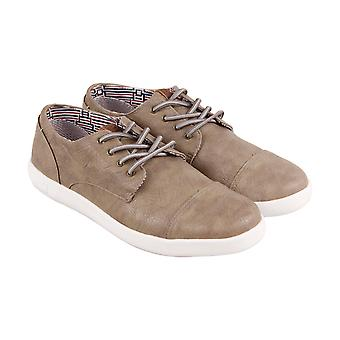 Ben Sherman Presely Cap Toe  Mens Brown Casual Fashion Sneakers Shoes