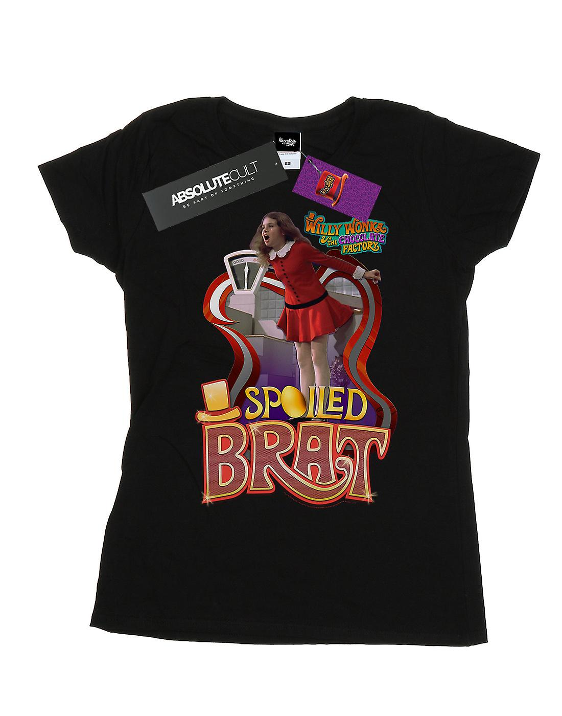 Willy Wonka And The Chocolate Factory Women's Spoiled Brat T-Shirt