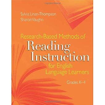 Research-Based Methods of Reading Instruction for English Language Learners: Grades K-4