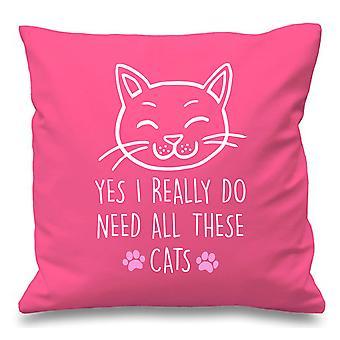 Rosa Kissen Abdeckung Katze ja ich brauche diese Katzen 16