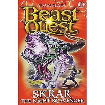Beast Quest: Skrar den natt gatsopare: serien 21 bok 2 (Beast Quest)