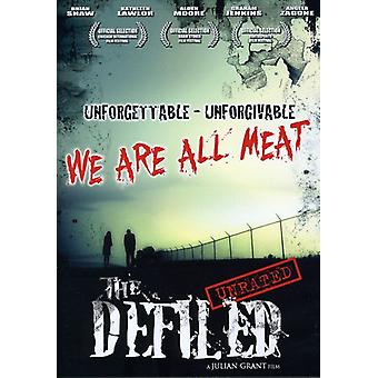The Defiled [DVD] USA import