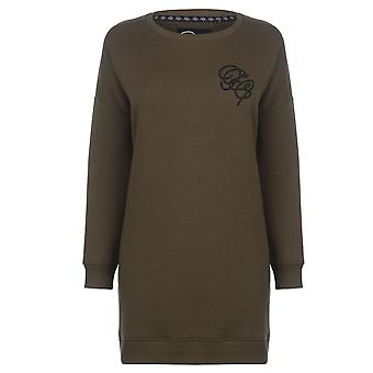 Fabric Womens Embroidered Sweater Dress