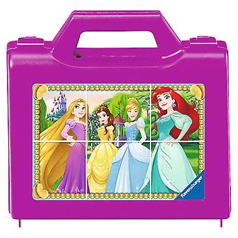 Disney Prinses Blokpuzzel, 6st.