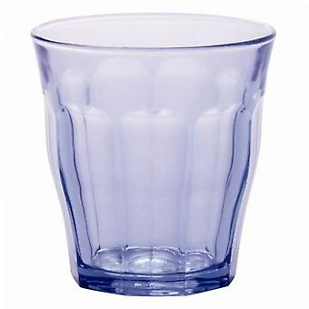 Packung mit 6 Duralex Picardie Marine blau Tumbler Glas Set 31Cl