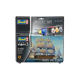 Revell 65819 1:450 HMS Victory Plastic Model Kit