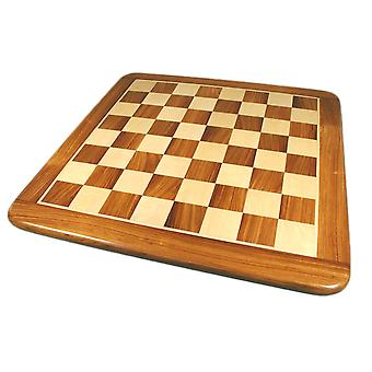 21 calowy Sheesham & klon okleina grube Chess Board