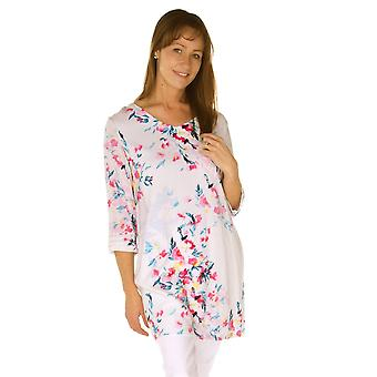 فستان العديني 824455LR الأبيض