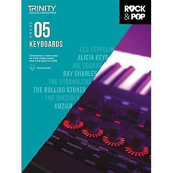 Trinity Rock & Pop 2018 Keyboards Grade 5 - 9780857366610 Book