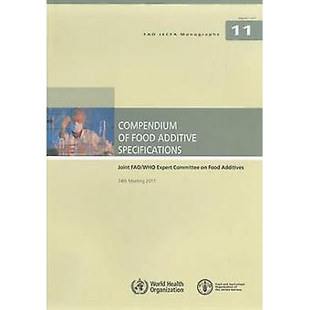 Compendium of Food Additive Specifications - Joint FAO/WHO Expert Comm