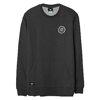 LRG 1947 Crew Pouch Sweatshirt Black Heather