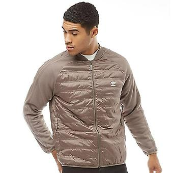 Adidas Originals Mens Superstar Jacket SST Classic Quilted Full Zip - BP7100