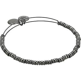 Alex And Ani Rocker EWB - Midnight Silver Bracelet - A18EBRKRTH