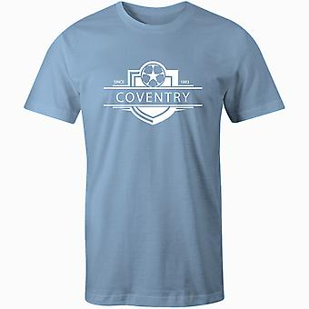 Coventry City 1883 gevestigde badge voetbal T-shirt