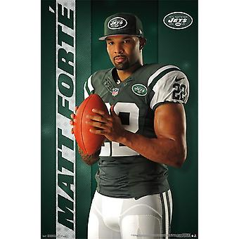 Poster - NFL - New York Jets - M Forte 16 New Wall Art 22x34