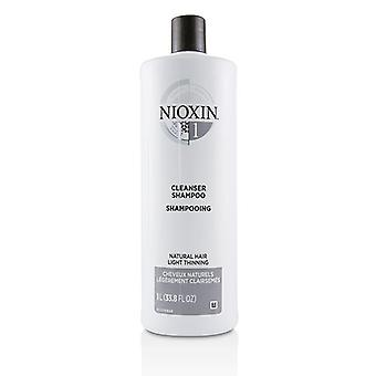 Nioxin Derma Purifying System 1 Cleanser Shampoo (Natural Hair, Light Thinning) 1000ml/33.8oz