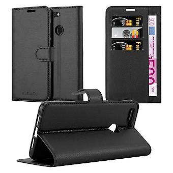 Cadorabo Case for ZTE Blade V9 Case Cover - Phone Case with Magnetic Closure, Stand Function and Card Case Compartment - Case Cover Case Case Case Case Case Book Folding Style