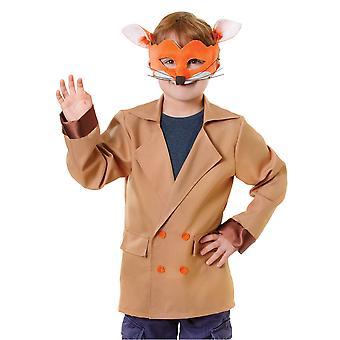 Bristol Novelty Childrens/Kids Fox Jacket